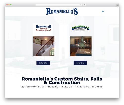 Betheme best WordPress template - romaniellos.net
