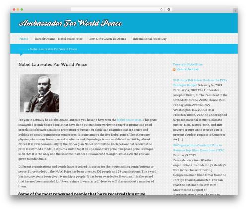 Black Rider template WordPress free - ambassadorforworldpeace.org