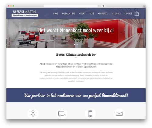 Bridge WordPress theme - beersklimaat.nl