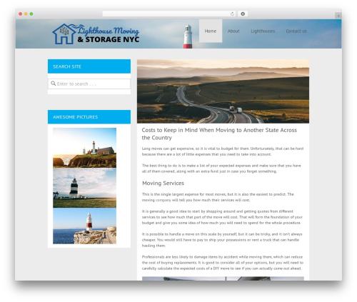 Cheap Travel WordPress theme - eastendlighthouses.org