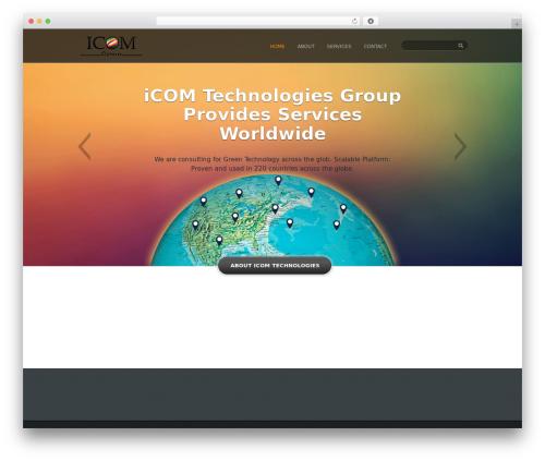 Conexus Parent WordPress website template - icomtechnologies.net