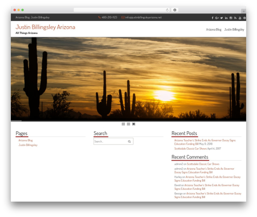 fCorpo free WordPress theme - justinbillingsleyarizona.net