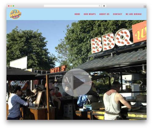 Kocka food WordPress theme - itsawrap.amsterdam
