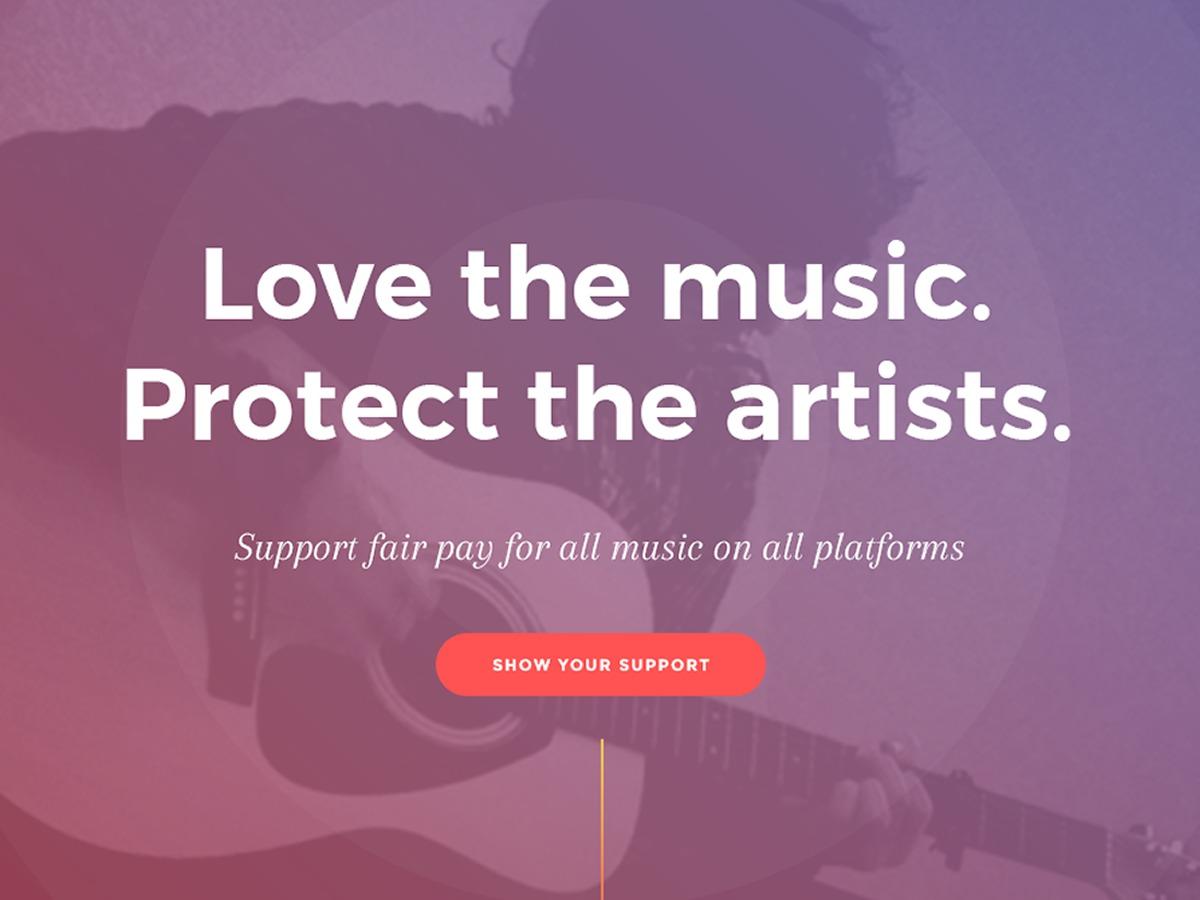 Music First Theme WordPress theme