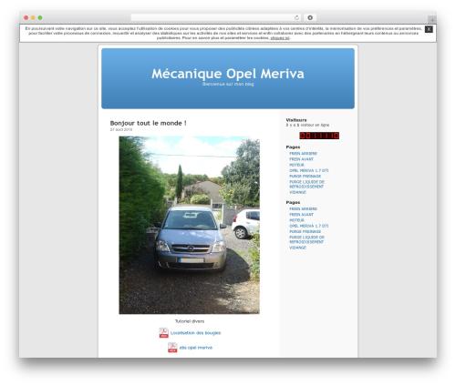 Thème par défaut best WordPress template - meriva.unblog.fr
