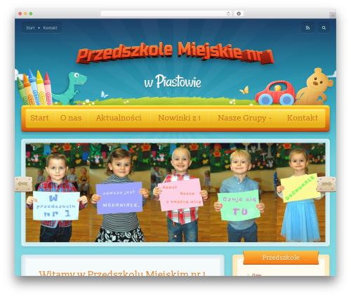Toddlers WordPress theme - przedszkole1-piastow.eu