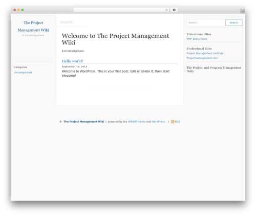 WikiWP WordPress free download - pmp.wiki