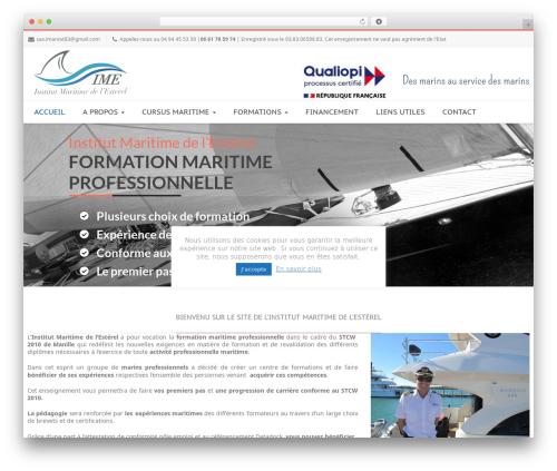 WordPress template Nimva - institut-maritime-esterel.org