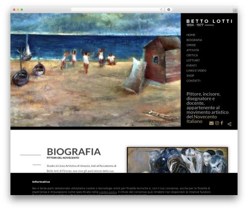 WordPress template The7 - bettolotti.it