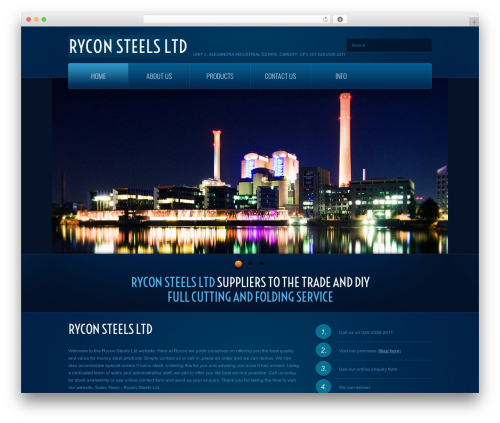 WP theme theme1866 - ryconsteels.co.uk