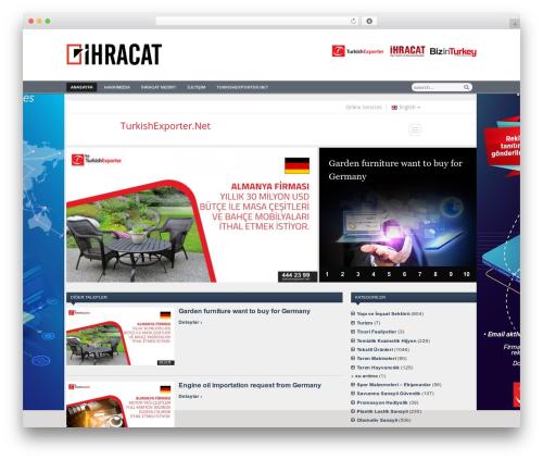 Zenko Magazine top WordPress theme - ihracat.com.tr