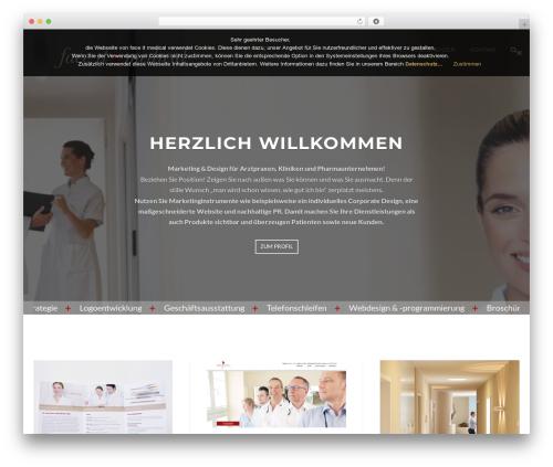 Appetite medical WordPress theme - face-it-medical.de