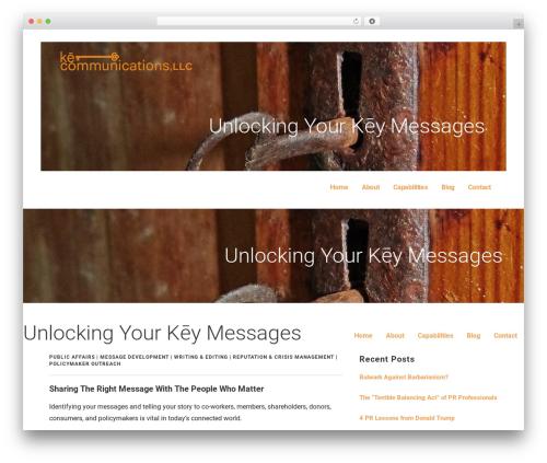 Ascension best WordPress theme - kecommunications.net