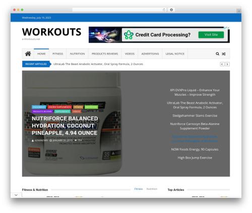 Free WordPress Frontend Post WordPress Plugin – AccessPress Anonymous Post plugin - e-workouts.net