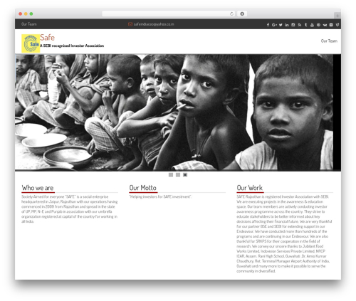 fCorpo WordPress template - safeia.org