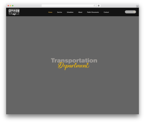 GoCargo WP template - grahamcountytransit.org