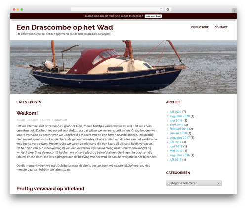 Poseidon WordPress template - slow.nl