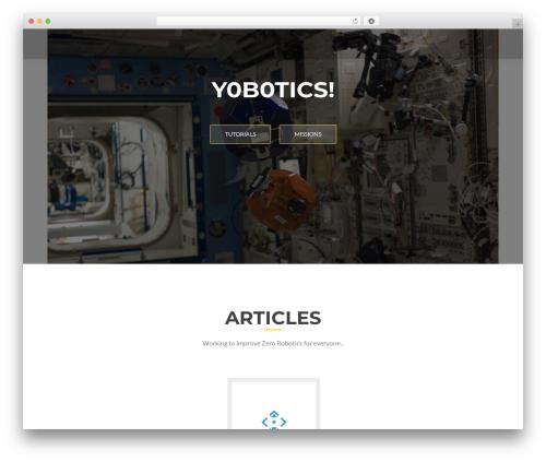 ResponsiveBoat best free WordPress theme - yobotics.org
