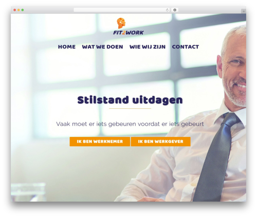 Sydney free WordPress theme - fit2work.support
