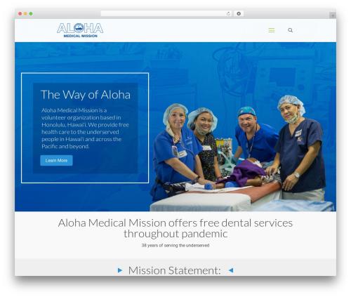 Theme WordPress Betheme - alohamedicalmission.org