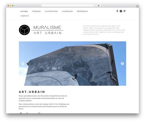 Free WordPress WP Simple Galleries plugin - muralisme.fr