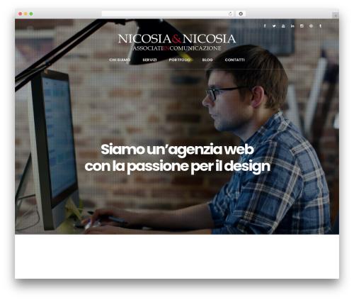 WordPress template EasyWeb - nicassociati.it