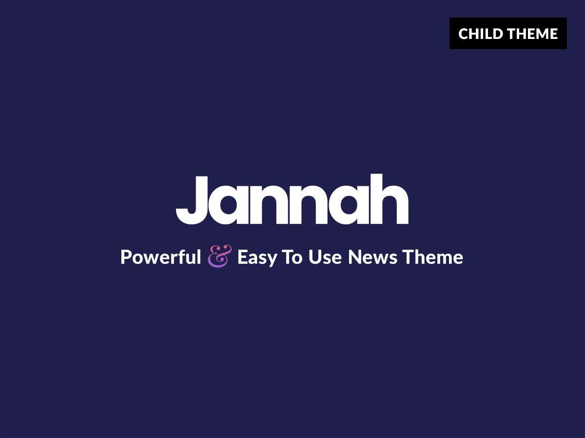 WP template Jannah Child | Shared by VestaThemes.com