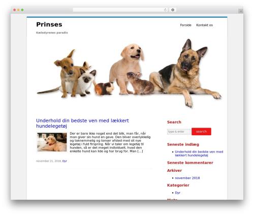 WP theme Clean Word - prinses.dk