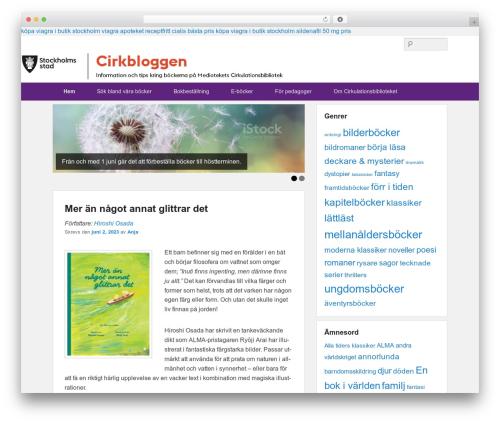 Catch Evolution best free WordPress theme - cirkbloggen.se