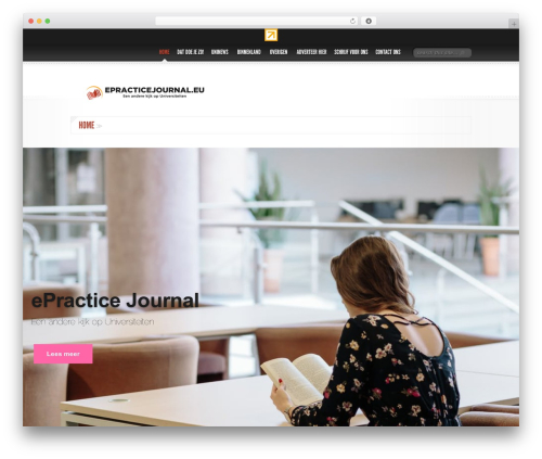 Delicate News WordPress magazine theme - epracticejournal.eu
