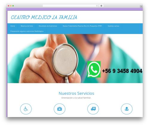 Health-Center-Lite free WordPress theme - cmlafamilia.cl