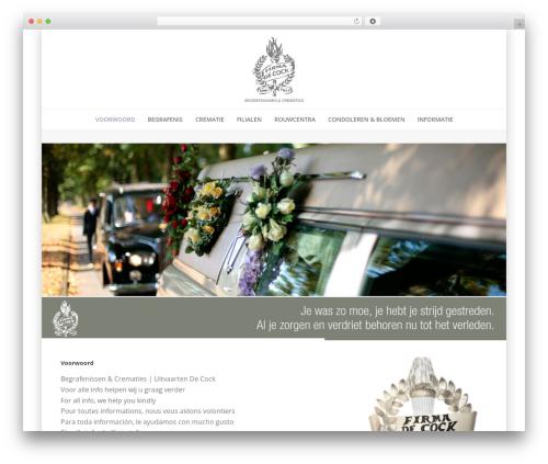 Jupiter WordPress theme - begrafenissen-decock.be