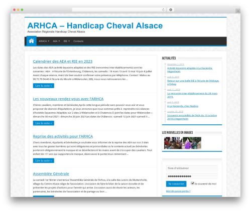 Sahifa (shared on wplocker.com) WordPress template - handicap-cheval-alsace.org