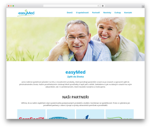 Simple Bootstrap theme free download - easy-med.cz
