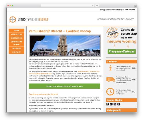 Theme WordPress BLANK Theme - utrechtsverhuisbedrijf.nl