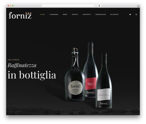 Villenoir template WordPress - forniz.it