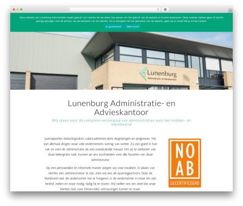 Best WordPress theme Enfold - lunenburgadministratie.nl