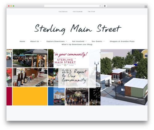 Carbis template WordPress - sterlingmainstreet.org