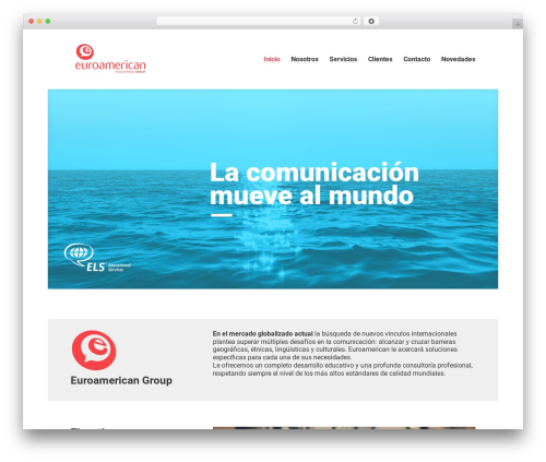 Divi WordPress template - euroamericangroup.net