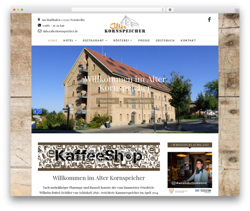 Edge WordPress theme download - alterkornspeicher.de