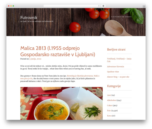 Food Express premium WordPress theme - futrovnik.si