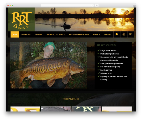 GeneratePress WordPress template free - rrt-baits.nl