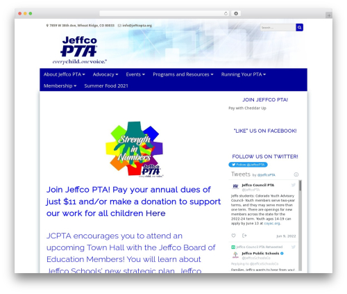 Free WordPress WP Header image slider and carousel plugin - jcpta.org