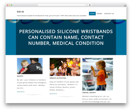 Litesite WordPress theme - kid-id.net