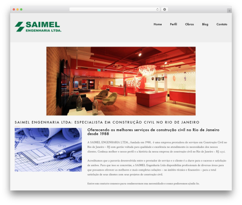 Mo WordPress theme - saimel.com.br