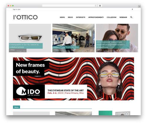 Newspaper best WordPress magazine theme - lottico.net