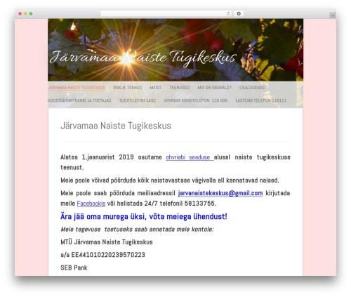 Polar Lite theme WordPress free - jarvanaistetugi.ee