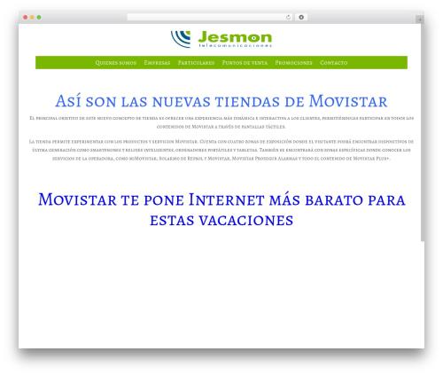 Satellite7 WordPress theme - jesmon.es