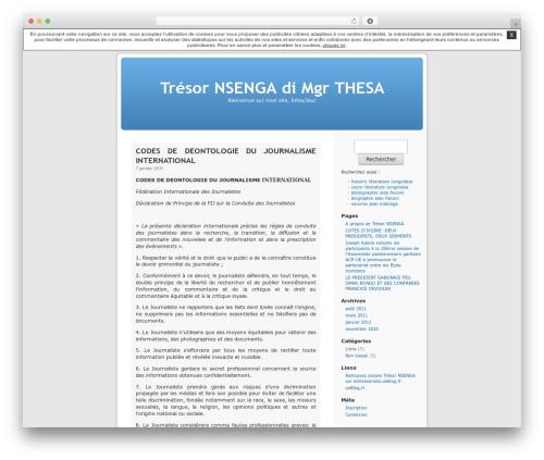 Thème par défaut WordPress website template - tresornsenga.unblog.fr