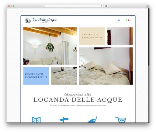 Theme WordPress Betheme - locandadelleacque.it